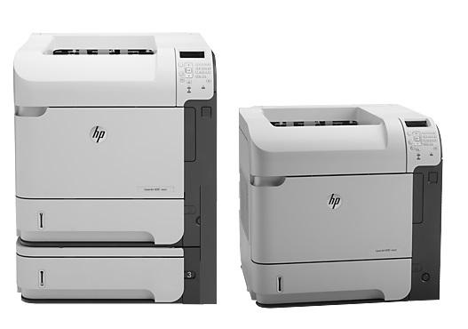 HP Lj Enterprise M601, M602 and M603 Series